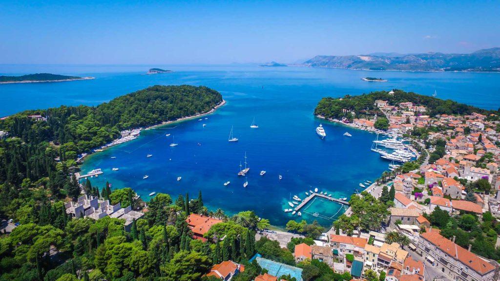 Cavtat Bay, Dubrovnik Riiviera (5) Aerial