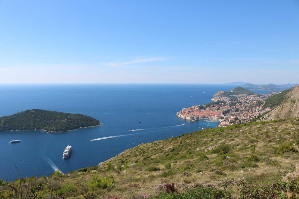 Dubrovnik & Lokrum from Srd Hill (2)