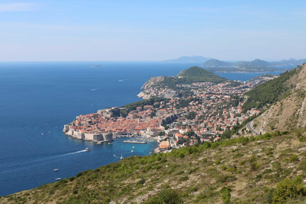 Dubrovnik & Lokrum from Srd Hill (3)
