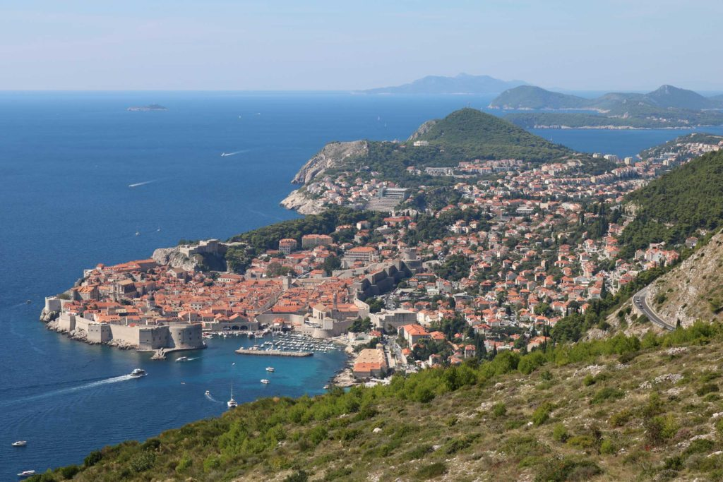 Dubrovnik & Lokrum from Srd Hill (4)
