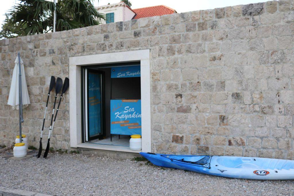 Kayak Hire, Mlini Bay, Dubrovnik Riviera