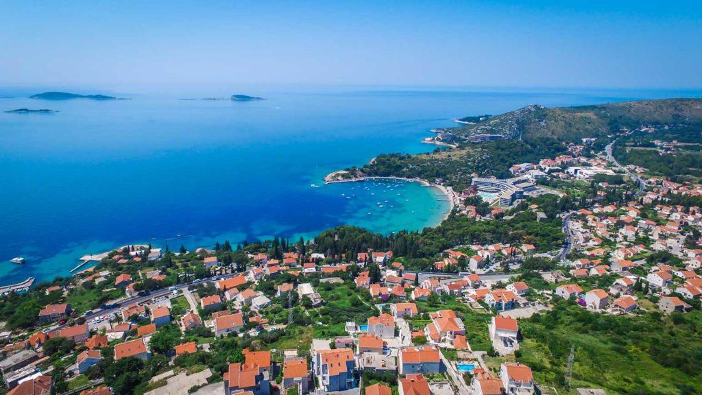 Mlini Bay, Dubrovnik Riviera (Croatia Gems Ltd) (2) Aerial