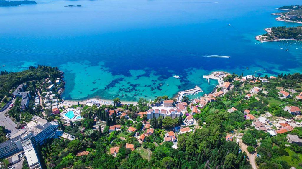 Mlini Bay, Dubrovnik Riviera (Croatia Gems Ltd) (5) Aerial