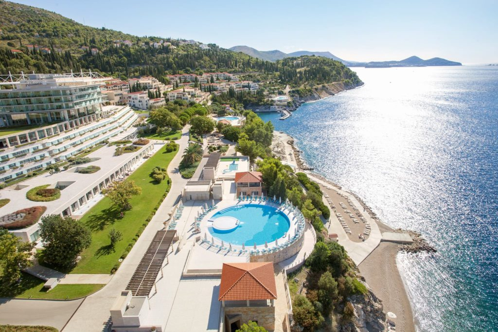 Radisson Blu Resort, Orasac Bay, Dubrovnik Riviera (10) Aerial