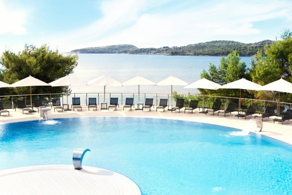 Radisson Blu Resort, Swimming Pool, Orasac Bay, Dubrovnik Riviera (2)