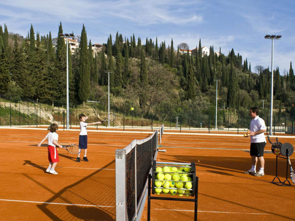 Tennis Courts, Radisson Blu Resort, Orasac Bay, Dubrovnik Riviera (1)