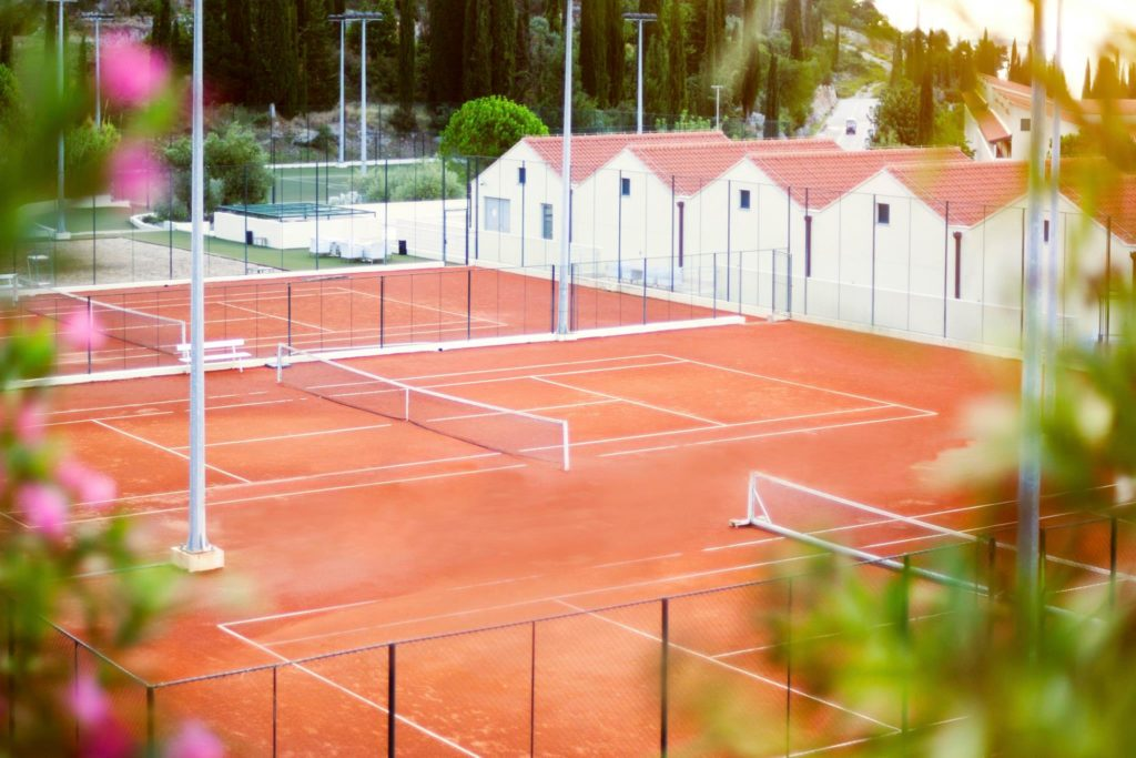 Tennis Courts, Radisson Blu Resort, Orasac Bay, Dubrovnik Riviera (7)