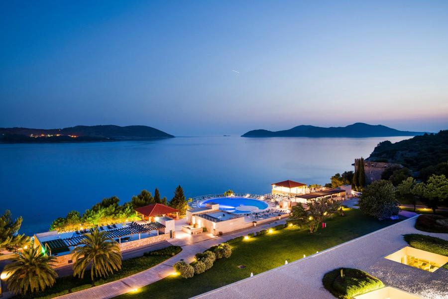 View from Bar Maraska, Radisson Blu Resort, Orasac Bay, Dubrovnik TH