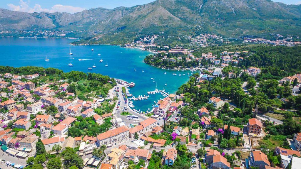 Cavtat Bay, Dubrovnik Riviera (11) Aerial