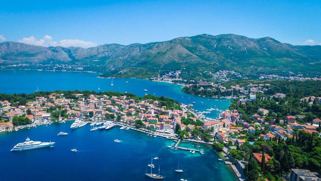 Cavtat Bay, Dubrovnik Riviera (16) Aerial