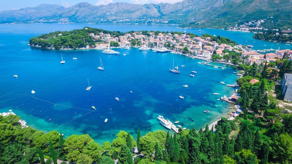 Cavtat Bay, Dubrovnik Riviera (19) Aerial