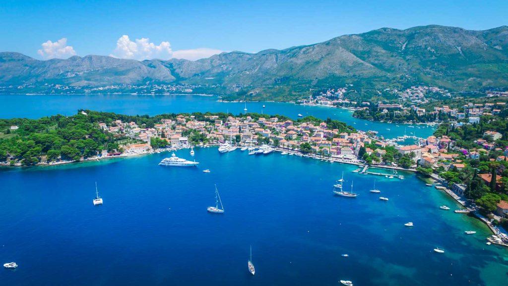 Cavtat Bay, Dubrovnik Riviera (28) Aerial