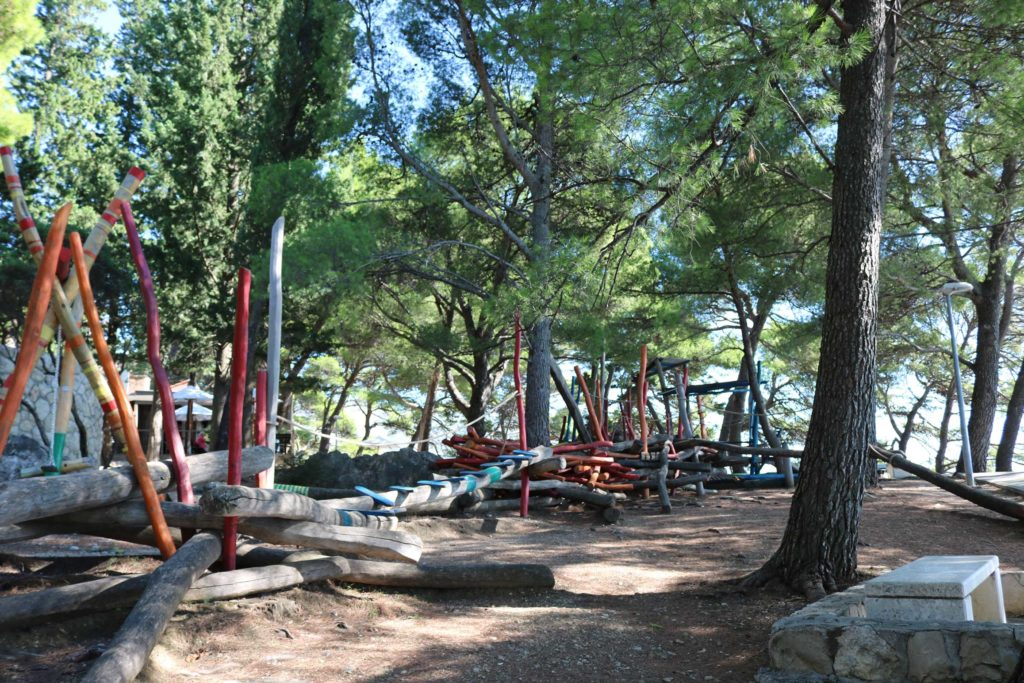 Childrens Play Area, Mlini Bay, Dubrovnik Riviera