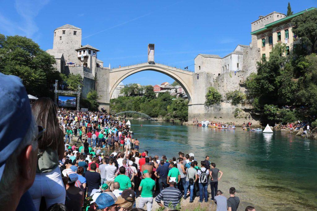 Mostar Old Bridge Redbull World Series Cliff Diving