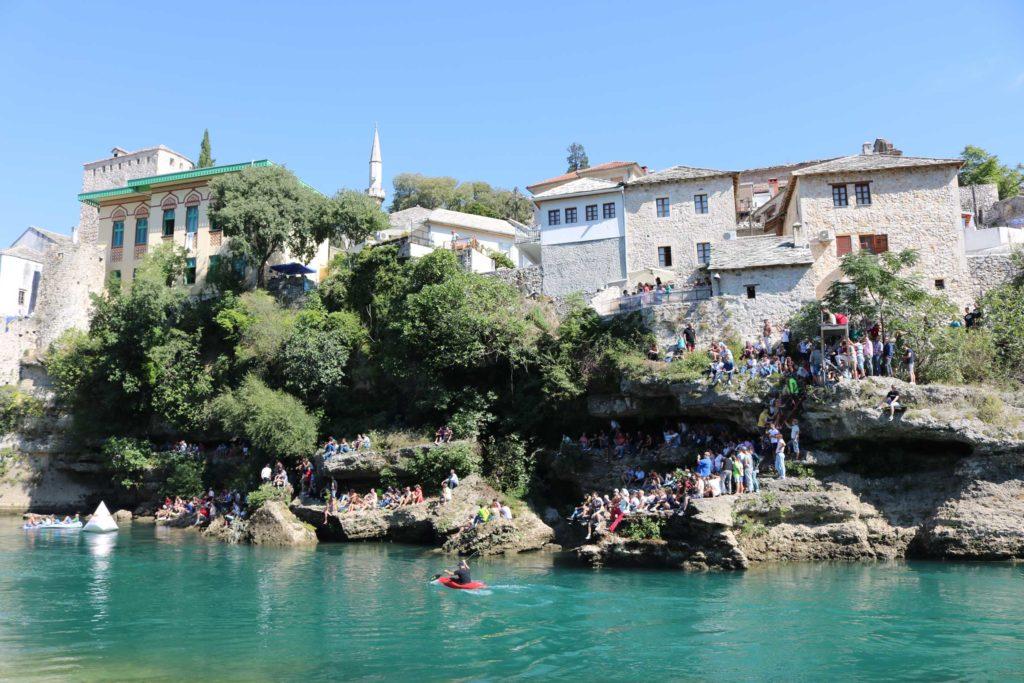 Mostar Old Bridge Redbull World Series Cliff Diving Event (22)