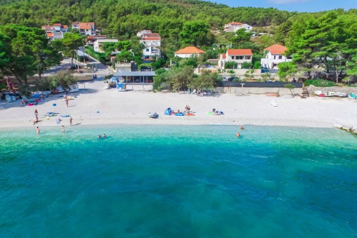 Plaza Beach, Slatine Bay, Split Riviera TH
