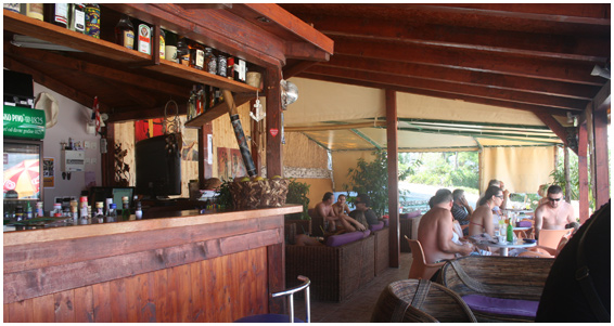 Skrapa Beach Bar, Arbanija, near Slatine Bay, Split Riviera (1)
