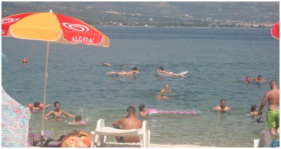 Skrapa Beach Bar, Arbanija, near Slatine Bay, Split Riviera (5)