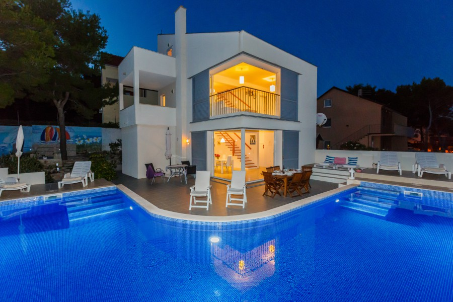 Villa Bianca, near Milna Bay, Brac Island TH