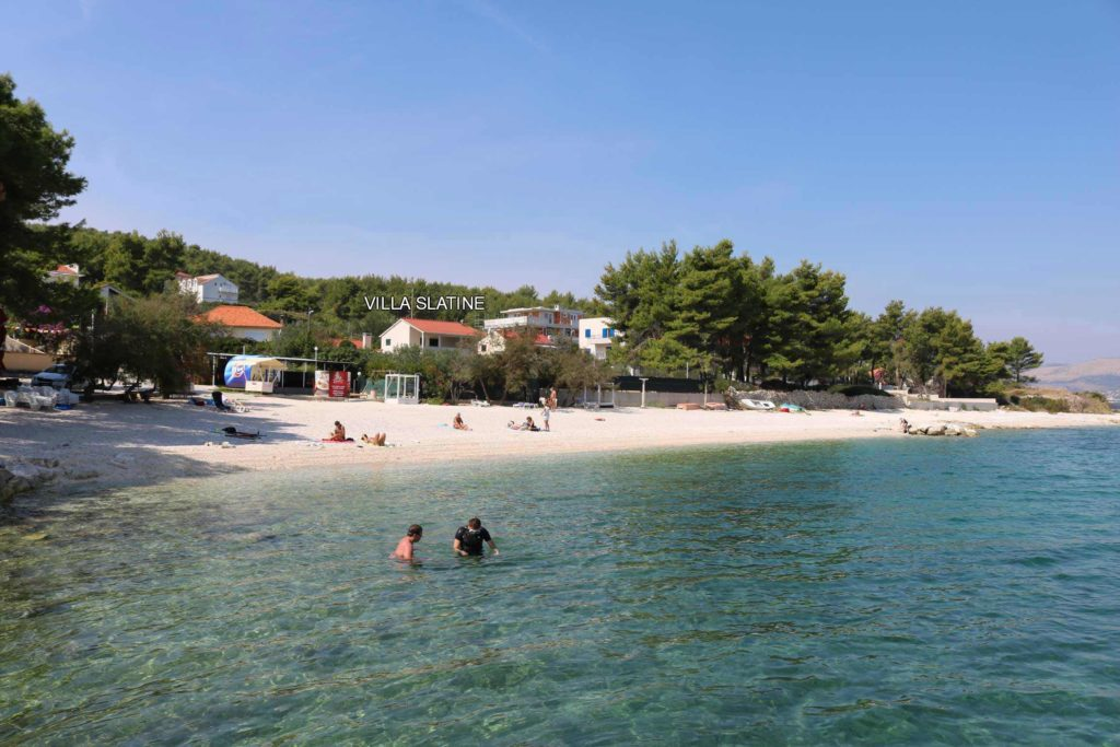 Plaza Beach, Slatine Bay Split, Riviera