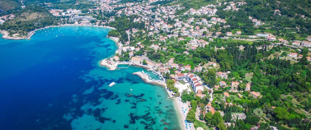 Mlini Bay, Dubrovnik Riviera (15)BB Aerial