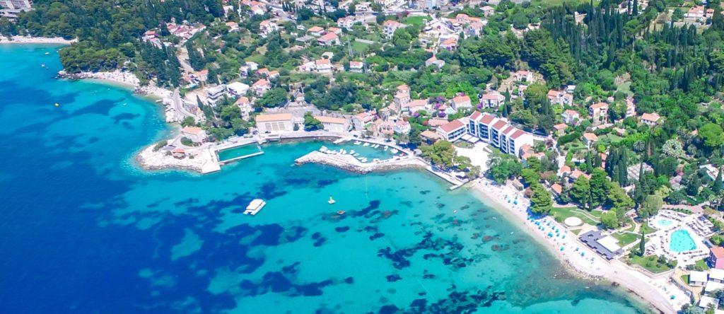 Mlini Bay, Dubrovnik Riviera (18)B Aerial