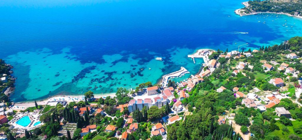 Mlini Bay, Dubrovnik Riviera (6)B Aerial