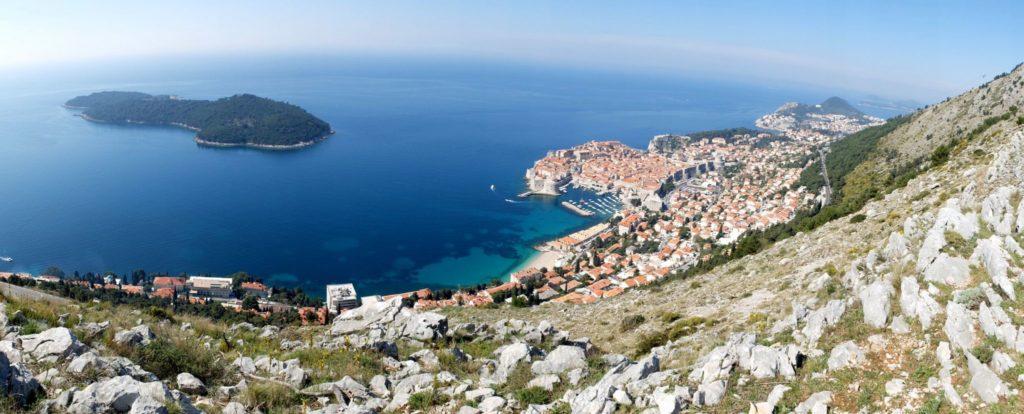 Dubrovnik Old Town (1) Aerial