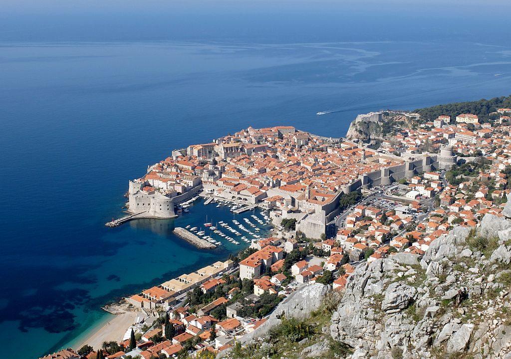 Dubrovnik Old Town (6) Aerial