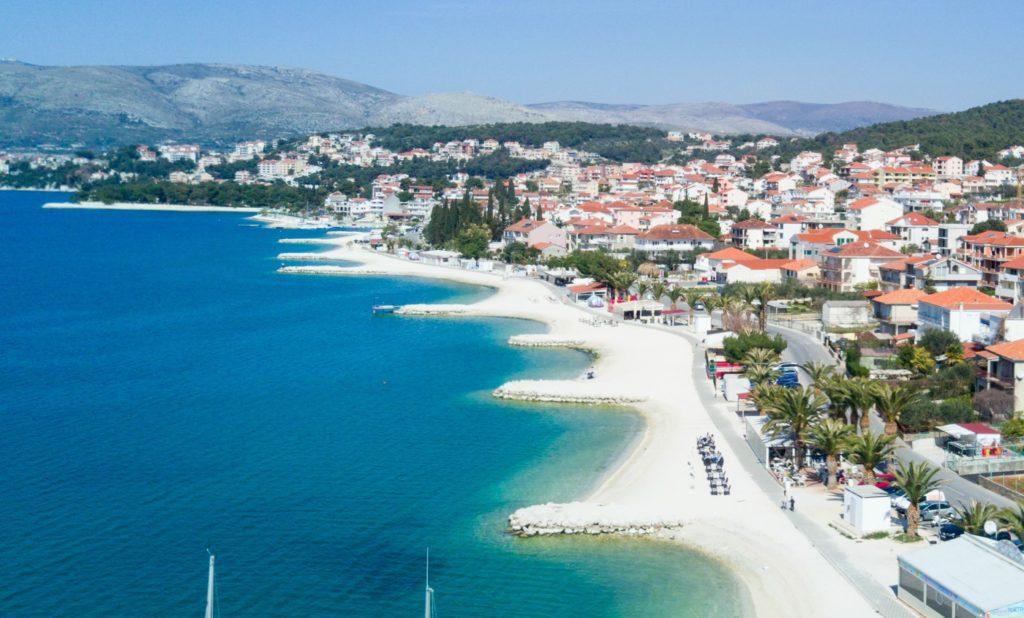 Okrug Gornji Beach, Split Riviera 5 Aerial
