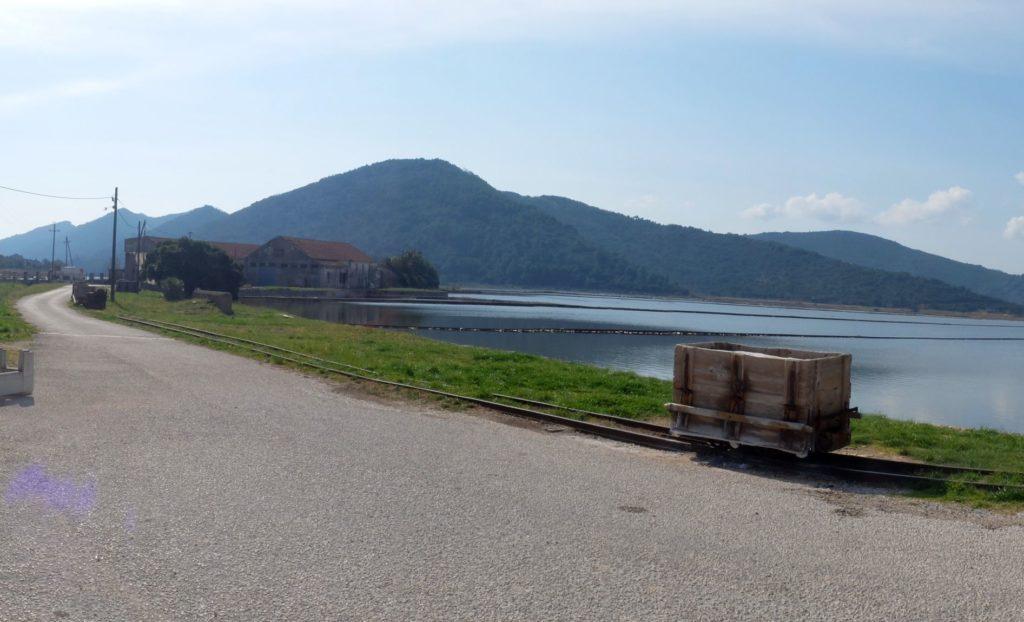 salt factory ston Peljesac Peninsula