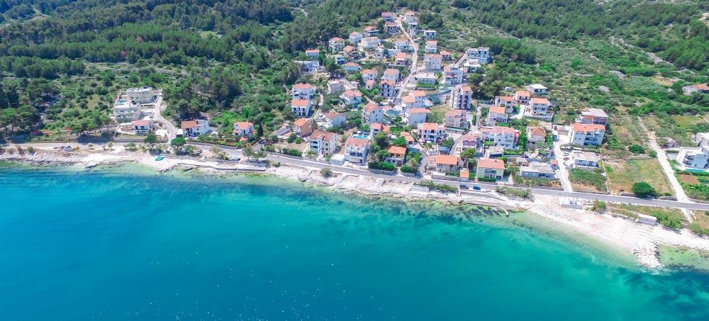Villa-Juliette,-Slatine-Bay,-Split-Riviera-5b Aerial