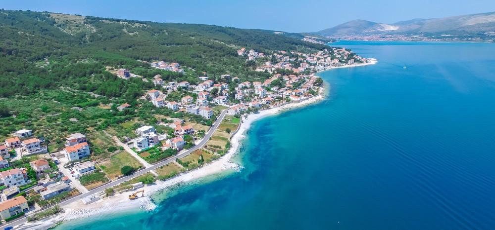 Villa Juliette, Slatine Bay, Split Riviera 6 Aerial