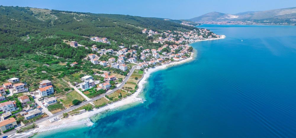 Villa-Juliette,-Slatine-Bay,-Split-Riviera-6b Aerial