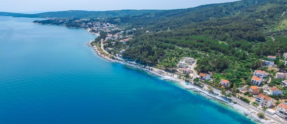 Villa Juliette, Slatine Bay, Split Riviera 7 Aerial