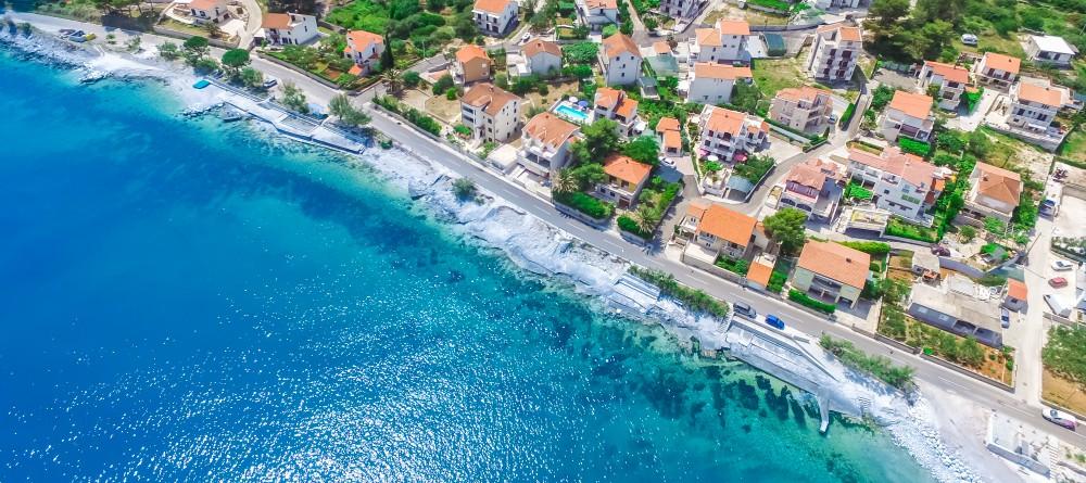 Villa Juliette, Slatine Bay, Split Riviera 8 Aerial