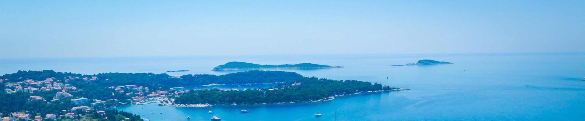 Cavtat Bay Dubrovnik Riiviera Strip