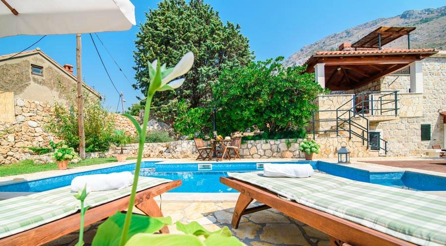 Villa Kim, Mlini Bay, Dubrovnik Riviera (3B)