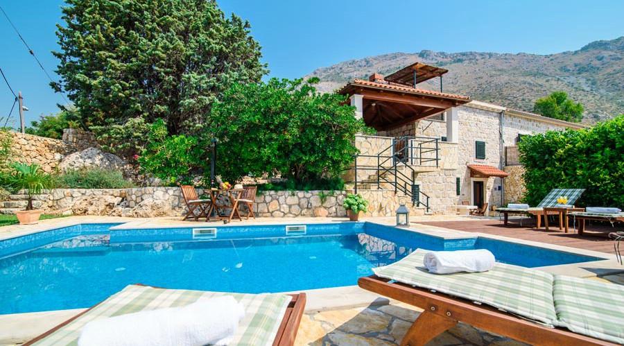 Villa Kim, Mlini Bay, Dubrovnik Riviera (6B)