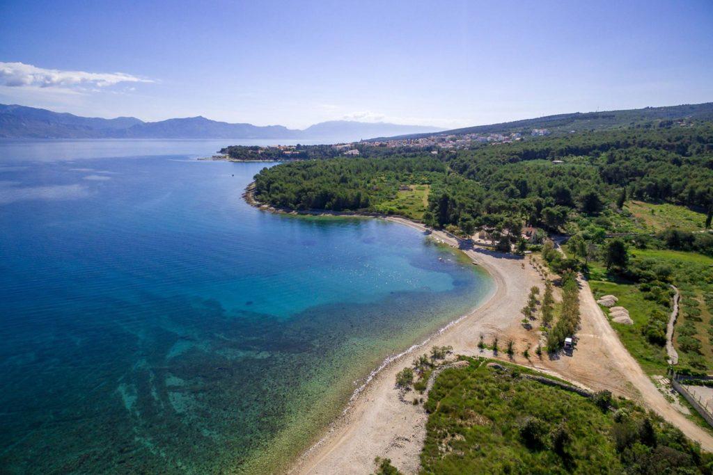 Villa Mira, Mirca Bay, Brac Island (5) Aerial