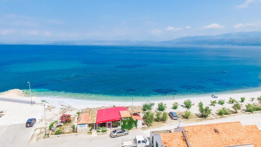 Villa-Nicholina-&-Villa-Corrine,-Mirca-Bay,-Brac-Island-(37) Aerial