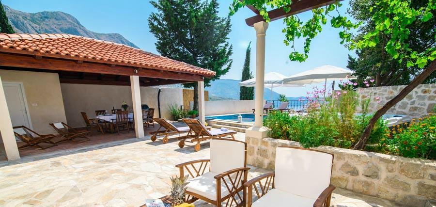 Villa Tereza, Mlini Bay, Dubrovnik Riviera (17B)