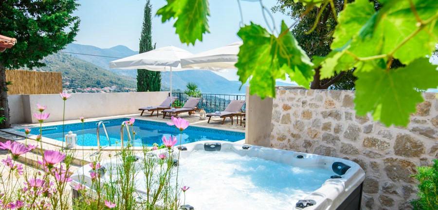 Villa Tereza, Mlini Bay, Dubrovnik Riviera (21B)