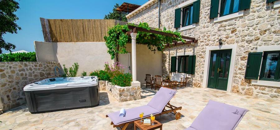 Villa Tereza, Mlini Bay, Dubrovnik Riviera (5B)