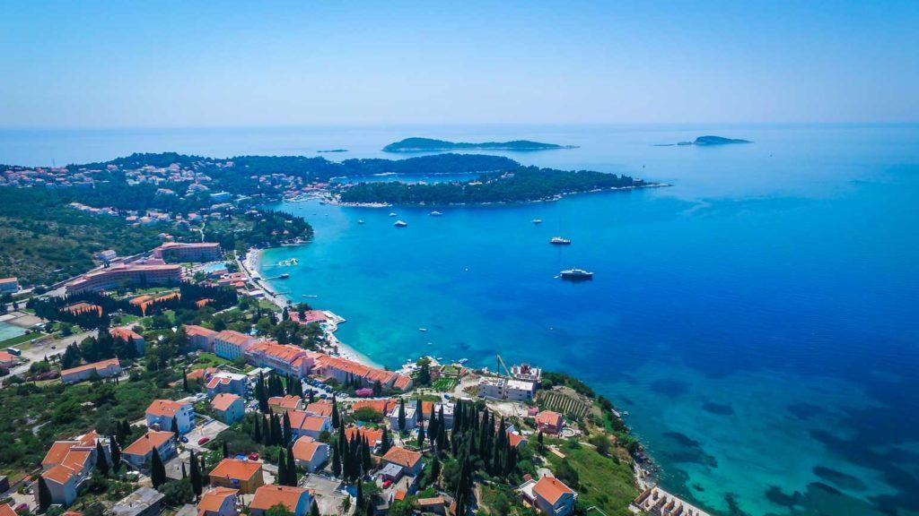 Cavtat Bay, Dubrovnik Riviera (36) Aerial