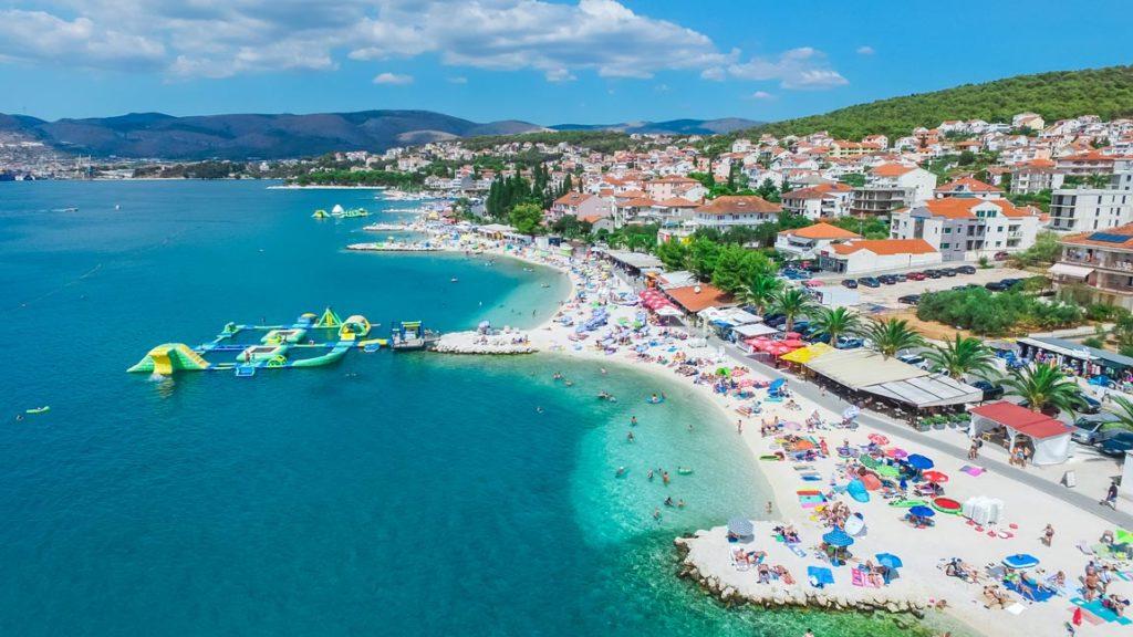 Okrug Gornji Beach, Split Riviera (7) Aerial