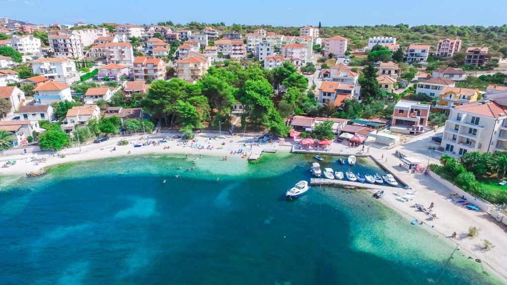 Okrug Marina Beach, Split Riviera (5) Aerial