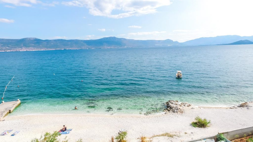 Slatine Town Beaches, Slatine Bay, Split Riviera (1