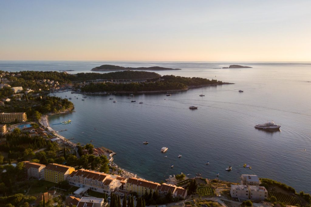Villa Apartment Capri, Cavtat Bay, Dubrovnik Riviera (20) Aerial