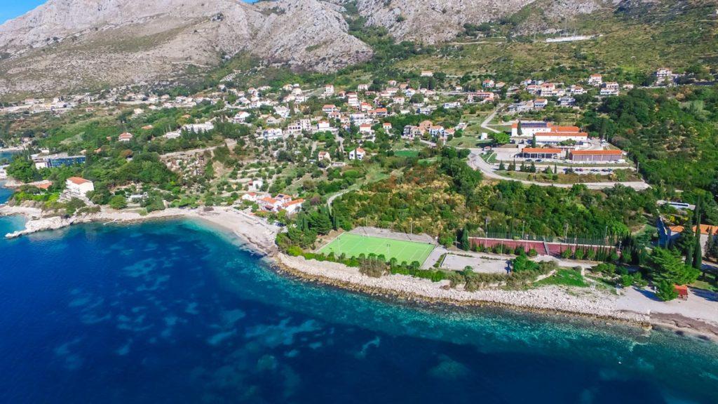 Plat Bay Beaches, Dubrovnik Riviera Aerial